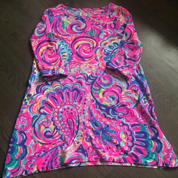 572a44b8907670 Lilly Pulitzer Other - So cute! Girls Lilly Pulitzer Mini Edna - Size Med